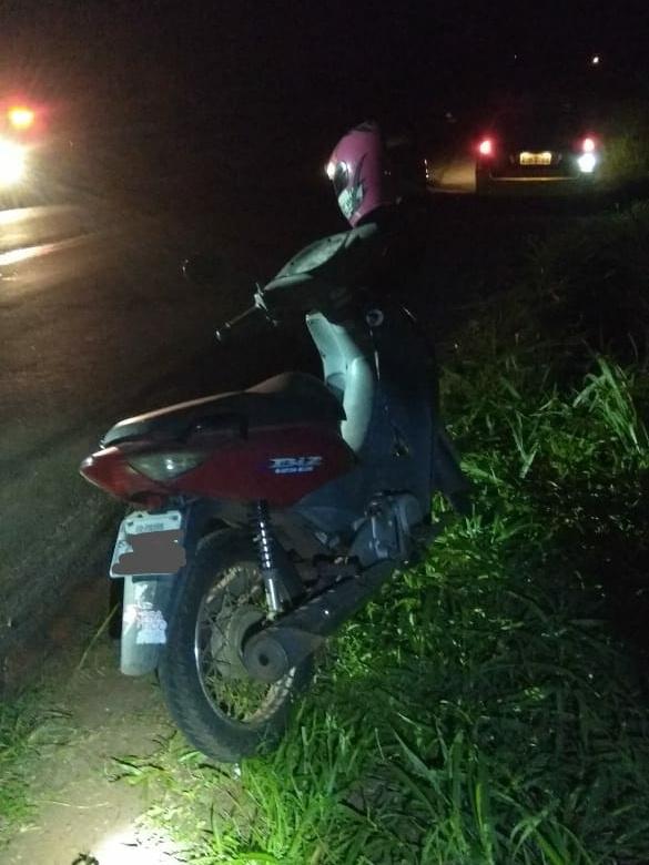 Motociclista fica ferida em acidente próximo a Pedreira Municipal de Toledo - Toledo News